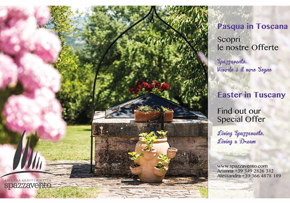 A Pasqua Visita la Toscana Scopri le Offerte di Agriturismo Spazzavento