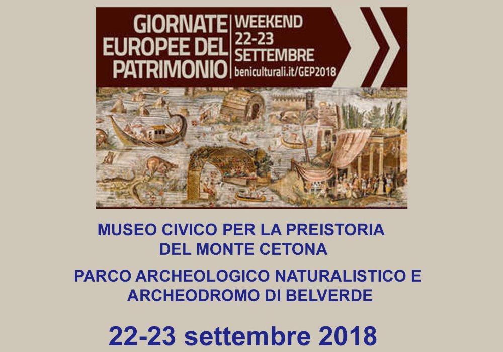 Giornate Europee del Patrimonio Il 22 e 23 settembre scegli Cetona