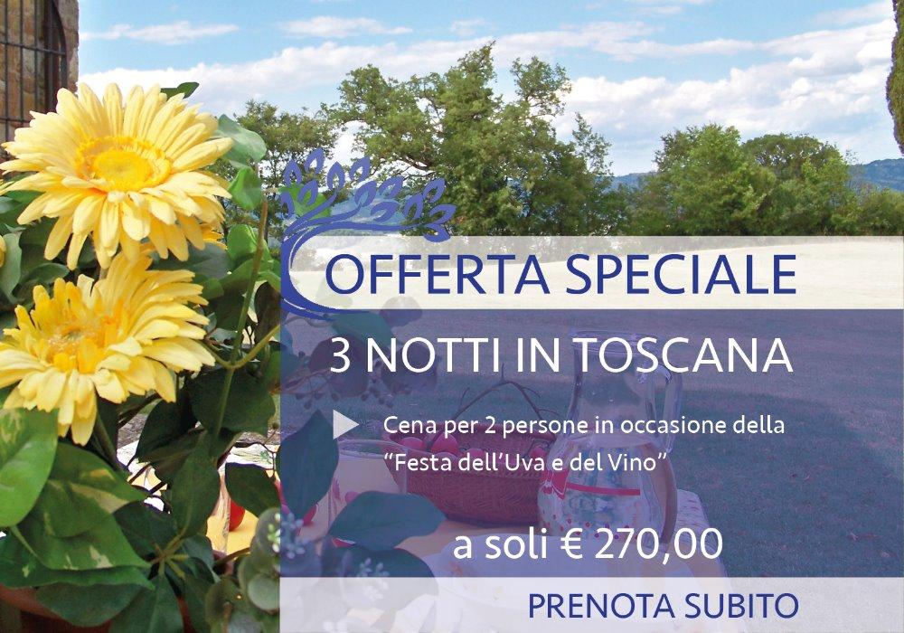 Pacchetto 3 Notti in Toscana Scopri il Buon Vino