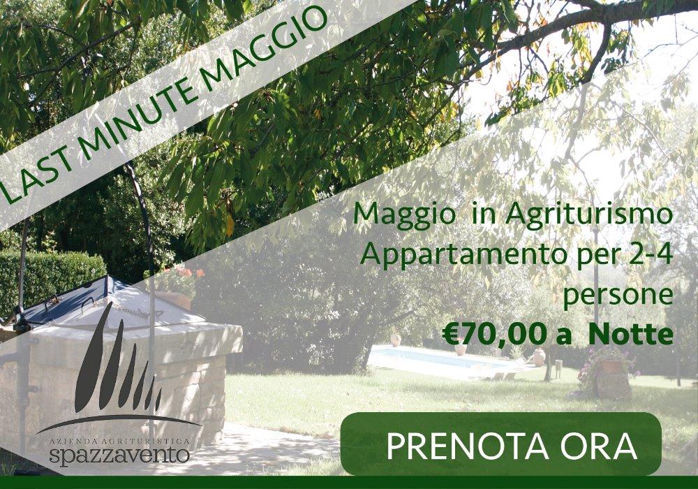 Last Minute  Maggio in Toscana