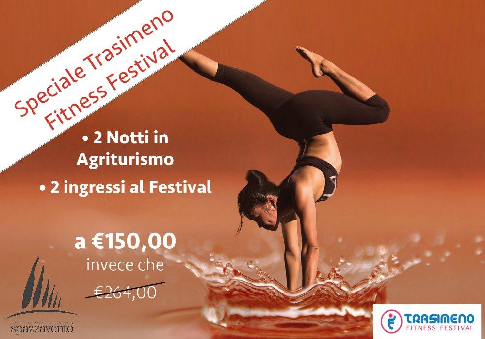 Offerta Speciale Trasimeno Fitness Festival 2018