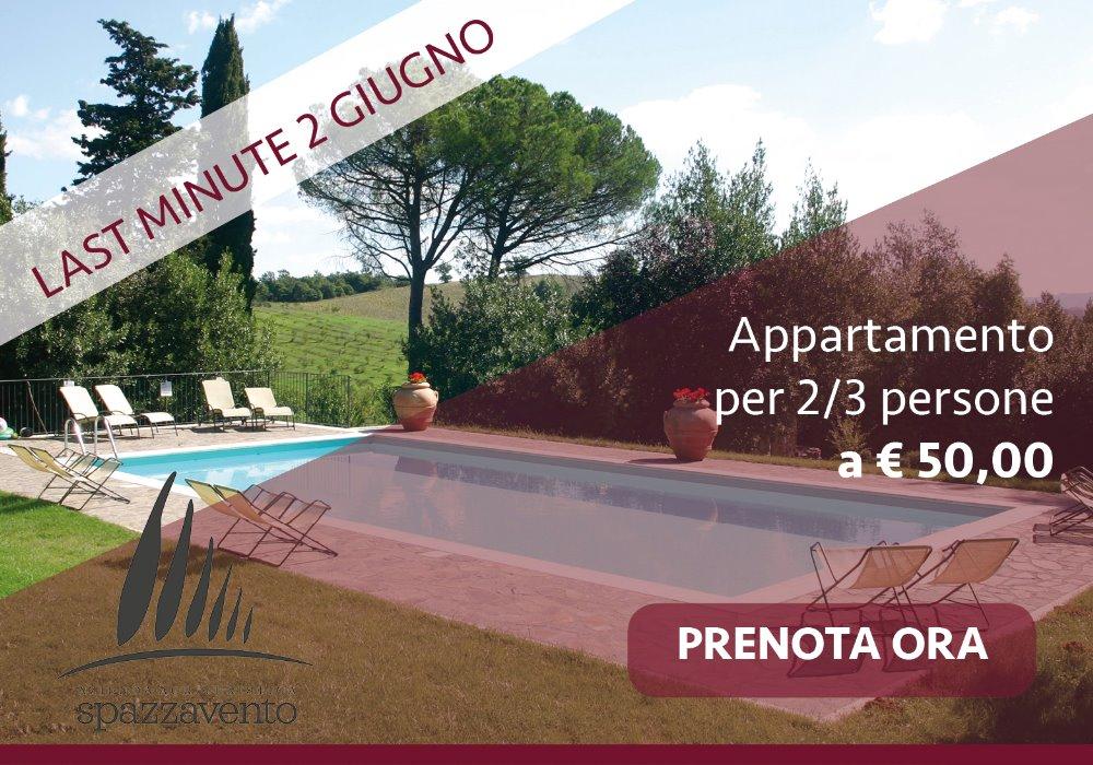 Last Minute 2 Giugno Offerta Agriturismo Toscana