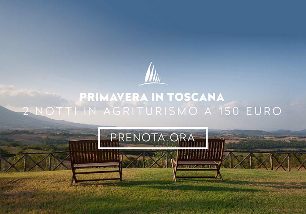 Offerta Primavera in Toscana 2 notti a Maggio