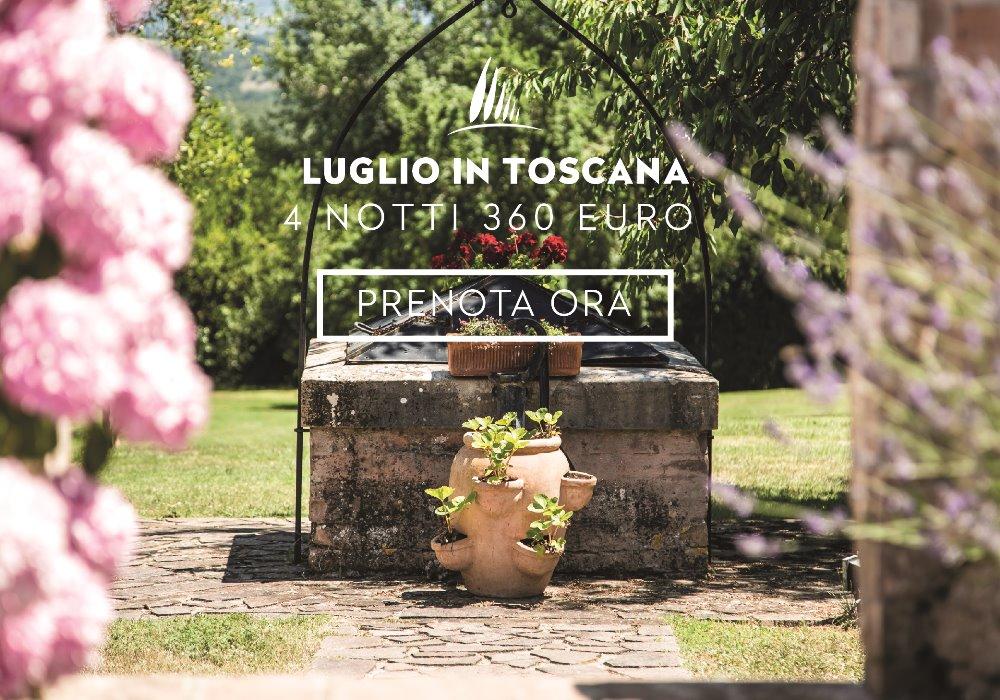 Offerta Luglio in Toscana 4 notti in agriturismo