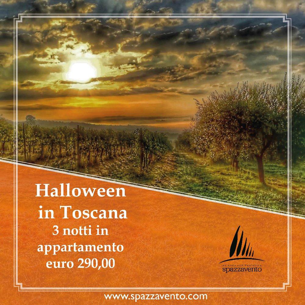 Offerta Halloween in Toscana 3 notti in appartamento a 290 euro