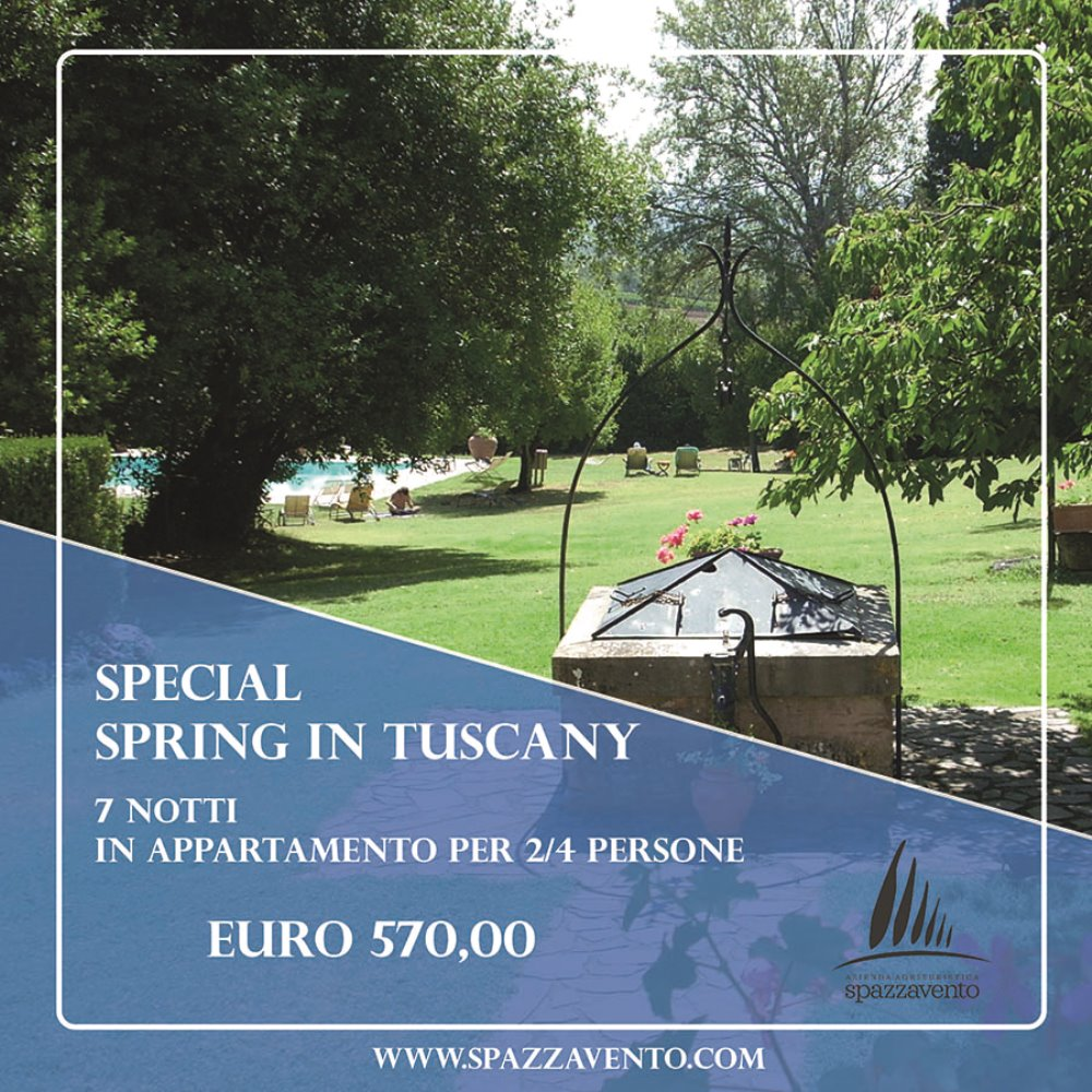 Special Spring in Tuscany Offerta per 7 notti