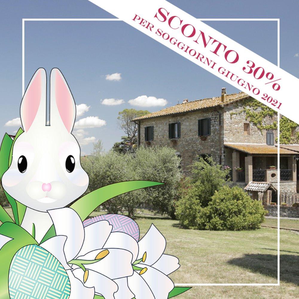 Offerta Vacanze in Toscana A Giugno con il 30% di sconto